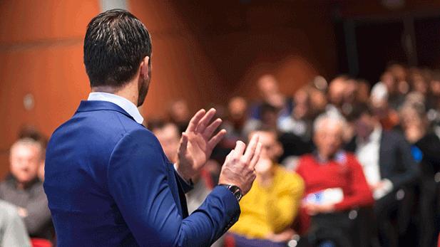 Divulgue suas participações em palestras e eventos