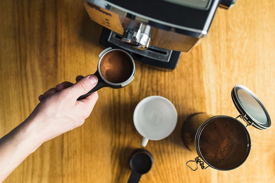 Compre a sua nova cafeteira, sem sair de casa