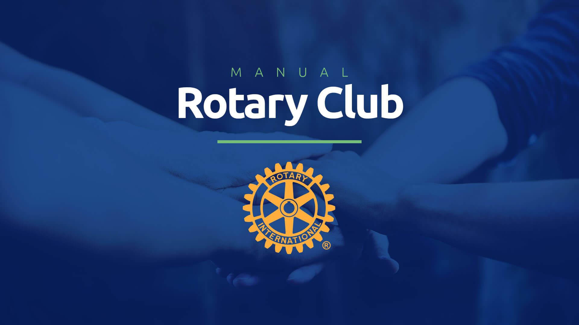 Clique e baixe o manual internacional do Rotary Club