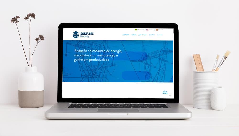 Site já está no ar para demonstrar os produtos Somatec Blocking